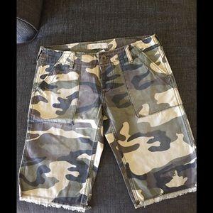 Roxy Camo Shorts 1